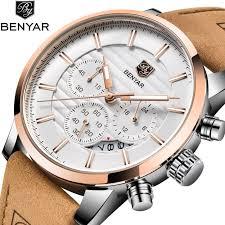 <b>Benyar New</b> Watches <b>Men</b> Luxury Brand Chronograph <b>Men</b> Sports ...