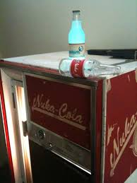 Nuka Cola Vending Machine For Sale Interesting Someone Created An Actual NukaCola Machine From Fallout 48 As Cool