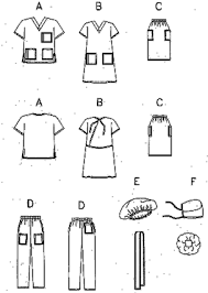 Hospital Gown Pattern Inspiration Butterick 48 Hospital Gown