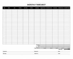 Employee Weekly Time Sheet Understanding The Different Types Of Timesheet Albam