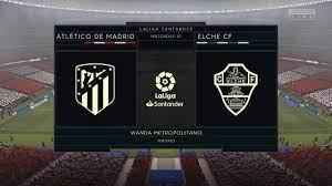 FIFA 21 Atletico Madrid vs Elche Prediction @ Wanda Metropolitano - YouTube