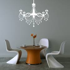 chandelier dining room vinyl wall decal happy walls regarding vinyl wall decals decorative vinyl wall decals