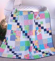 No Limit To Your Creativity With This 12″ Block Quilt Design ... & 12-inch-block-baby-quilt-pattern Adamdwight.com