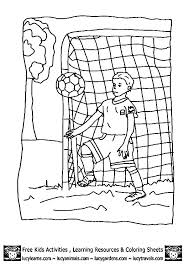 Surprising Free Soccer Coloring Pages Football Coloring Pages