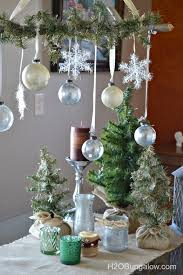 Cool Gold And White Christmas Table Decorations With Christmas Gold And Silver Home Decor