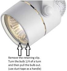 track lighting how to. Modren How How Do You Replace A GU10 Bulb In Hampton Bay Track Light The With Regard To  Lighting Design 15 And G