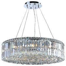 4 light crystal chandelier by harrison lane designs