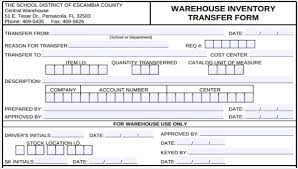 Word Inventory Free 6 Inventory Transfer Forms In Word Pdf