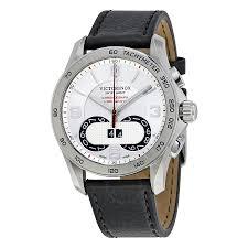 victorinox swiss army silver dial men s watch 241703 chrono victorinox swiss army silver dial men s watch 241703