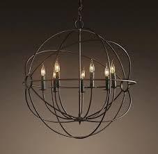 chandeliers orb light chandelier fixture 4 clear glass 6 living room fixtures free detail ideas