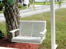 outdoor swing chair with stand porch s single patio outdoor swing chair with stand