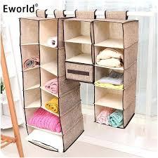 cloth closet organizer cells creative clothes hanging drawer box underwear sorting storage wall wardrobe closet organizer