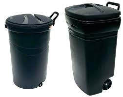 small trash cans can outdoor with wheels gallon brute for bat