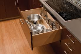 Kitchen Drawer Storage Kitchen Storage Roll Out Kitchen Drawers Dura Supreme Cabinetry