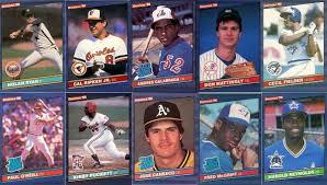 1990 donruss baseball rookies complete set. 1986 Donruss Baseball Cards 10 Most Valuable Wax Pack Gods