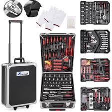 Cette mallette d'outils sera idéale pour votre bricolage quotidien. Coffret Multi Outils
