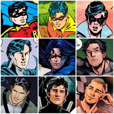 Of Bats And Birds — Dick Grayson – 80 years of hairstyles