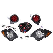 Yamaha G29 Brake Light Switch Golf Cart Complete Light Kit With Led Taillights Fits Yamaha G29 Ydr Drive 2007 Up By 10l0l