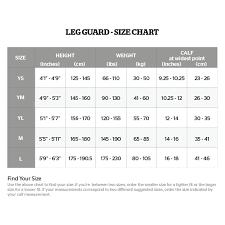 Adidas Shin Guard Size Chart Storelli Bodyshield Soccer Leg Guard Shin Guard Black X2