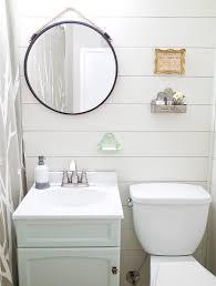 farmhouse style bathroom makeover in