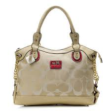 Coach Legacy Pinnacle Lowell In Signature Large Ivory Satchels ADT