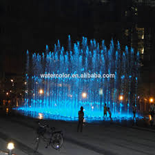 Trade Assurance Floor Fountain LED In Ground Music Water Fountains For Fun