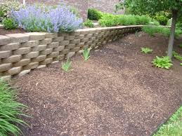 backyard retaining wall designs. Backyard Retaining Wall Ideas Photo \u2013 4 Designs