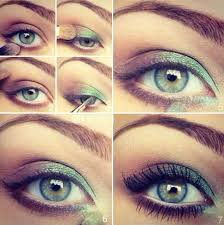 eye makeup spring green eyes makeup inspiration colors apply middot blue