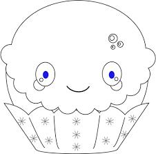 Disegno Di Cupcake Natale Kawaii Da Colorare Disegni Da Colorare E