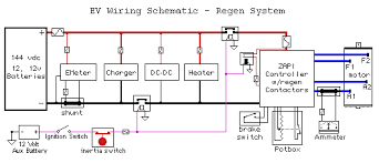 technical help v is for voltage electric vehicle forum contactor wiring schematic for reversing series motor · dewalt dc9360 nanophosphate battery pack wiring diagram