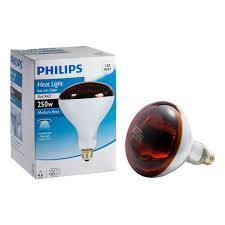 Near Infrared Light Bulbs Lowes Philips 250 Watt Incandescent R40 Red Heat Lamp Light Bulb