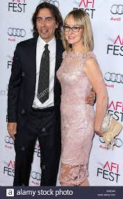 Los Angeles, CA, USA. 12. November 2014. Carlo Ponti Jr., Andrea Meszaros  Ponti im Ankunftsbereich für ein besonderes Tribut an Sophia Loren beim AFI  FEST 2014, der Dolby Theater in Hollywood und
