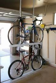 Ceiling Double Bike Storage by Your Great Garage