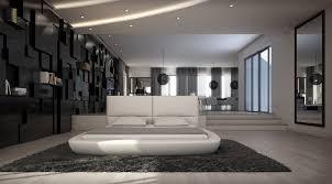 Modern Bedroom Furniture Stores Modrest Ravello Modern White Eco Leather Bed By Vig Furniture