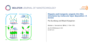Organic And Inorganic Organic Thin Film Structures By Molecular
