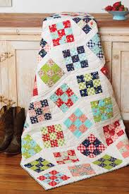 Line Dance Quilt - Fons & Porter | Patch quilt, Patches and Patterns & Easy quilt patterns Adamdwight.com