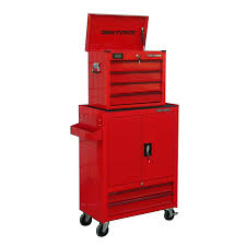 lowes tool chest on wheels. task force 58.66-in x 28.6-in 6-drawer ball-bearing steel lowes tool chest on wheels