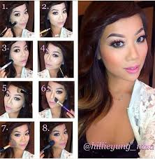 beautiful makeup ideas with makeup step by step contouring with contouring step by step amazing