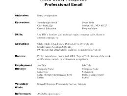Resume No Job Experience Amazing Resume Template For High School Student With No Job Experience