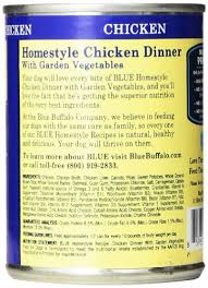 Blue Diamond Puppy Food Feeding Chart Blue Buffalo Blue Homestyle Recipe Chicken Dinner With Garden Vegetables Adult Dog Food