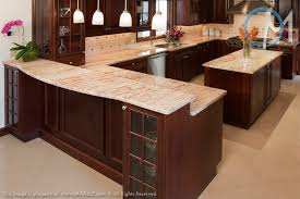 white brown colors kitchen breakfast. This Kitchen Shows How Well The Ivory Brown Granite Can Compliment Red Mahogany Cabinets White Colors Breakfast N