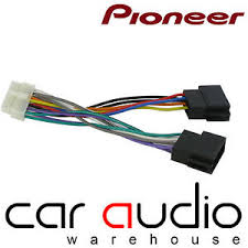 pioneer 14 pin iso head unit replacement car stereo wiring harness pioneer deh-1100mp car stereo wiring diagram at Pioneer Car Stereo Wiring Harness