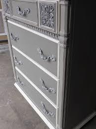grey painted furnitureSophisticated Grey Painted Lady Dresser  Hometalk