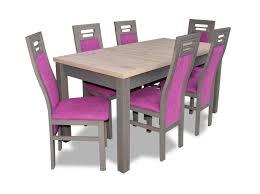 Details Zu Moderne Esszimmer Holz Tisch Stuhl Garnitur Komplett Set 7 Teiliges Set Stühle