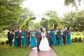 erin johns wedding at lewis ginter botanical garden image property of j