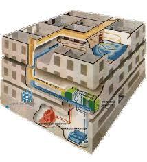 Расчет отопления промышленных зданий Система отопления Эта система может строиться как на базе центрального так и автономного отопления Различаться они будут лишь наличием или отсутствием непосредственно