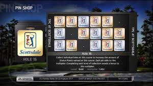 tiger woods pga tour 14 pin collector achievement