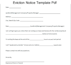 Notice Of Eviction Letter Template Enchanting Best Notice To Evict Template Eviction Texas Free Jmjrlawofficeco