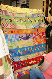 338 best round robin or medallion quilts images on Pinterest ... & Row Quilts in a Round Robin - very cool. Children's ... Adamdwight.com