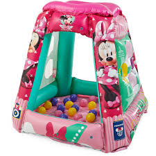 minnie mouse jet setter playland ball pit with 20